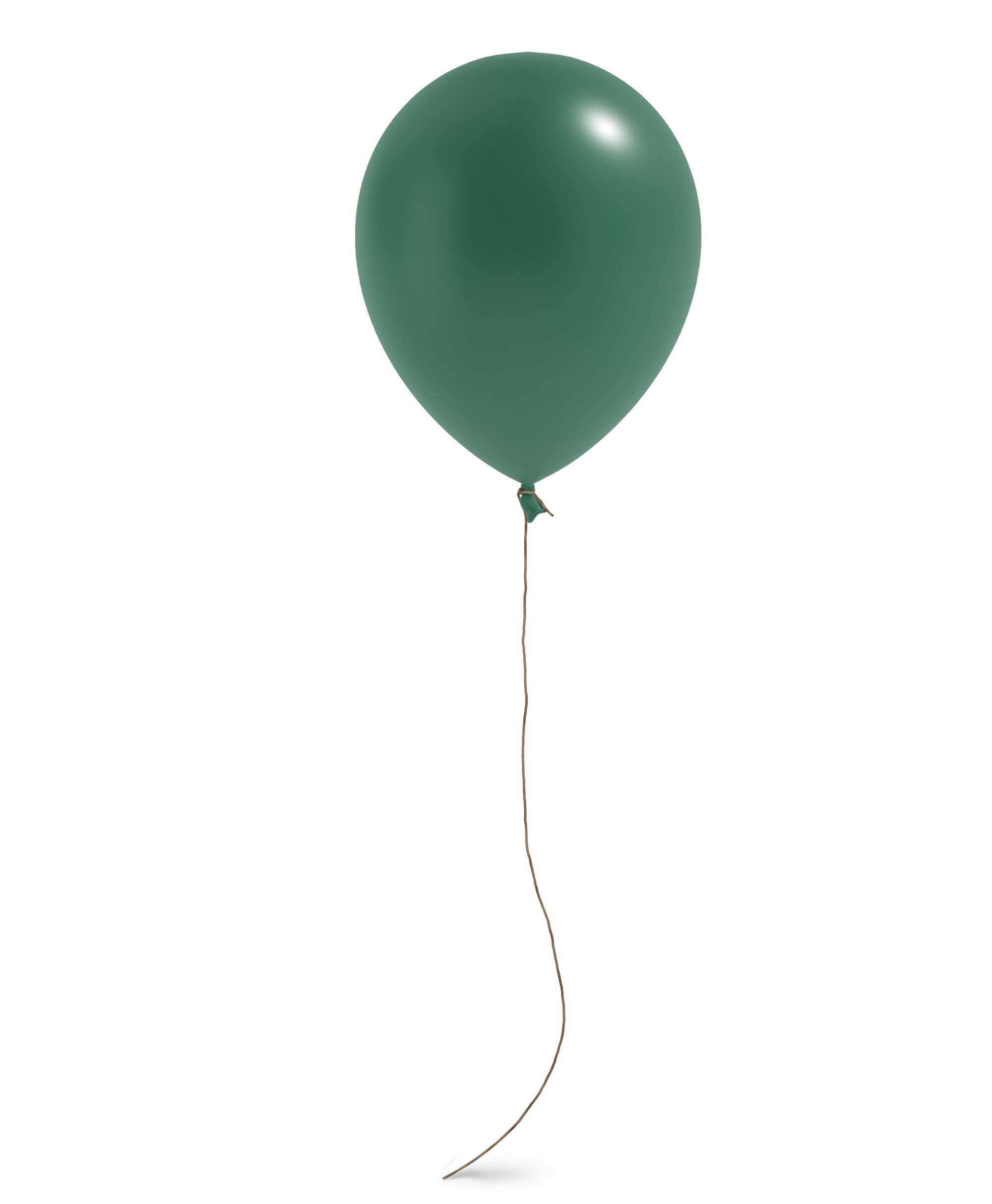 "Dark green balloon 11"" - Gum nut Theme"
