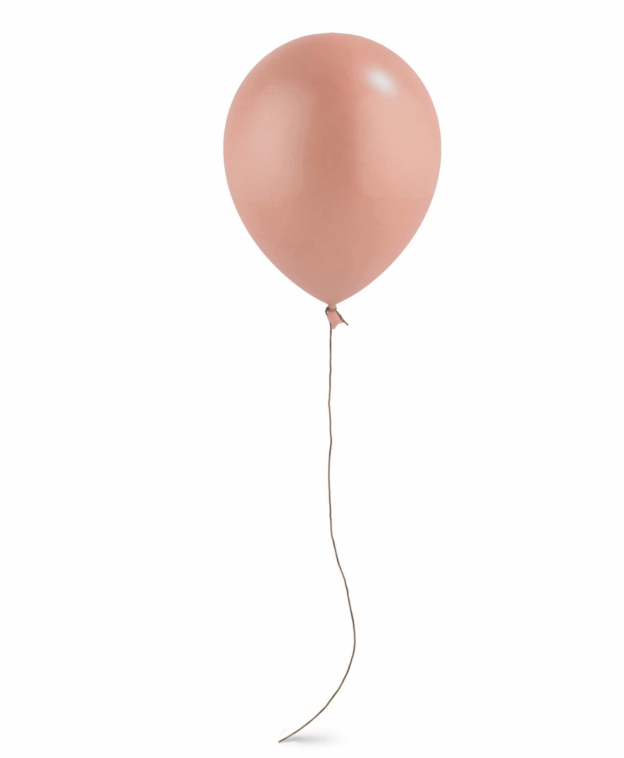 "Rose gold balloon 11"" - Raspberry theme"