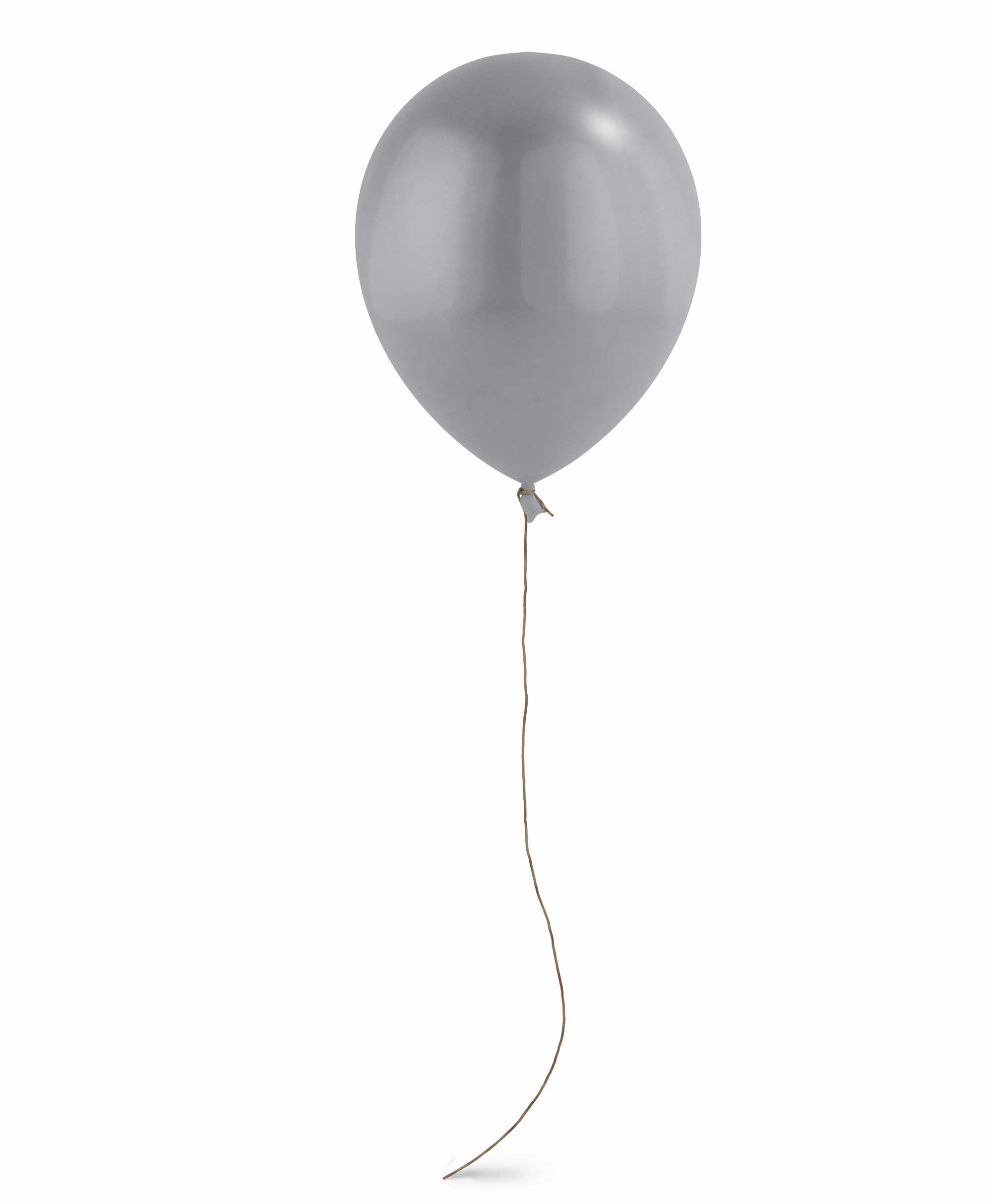 "Silver balloon 11"" - Blush Theme"