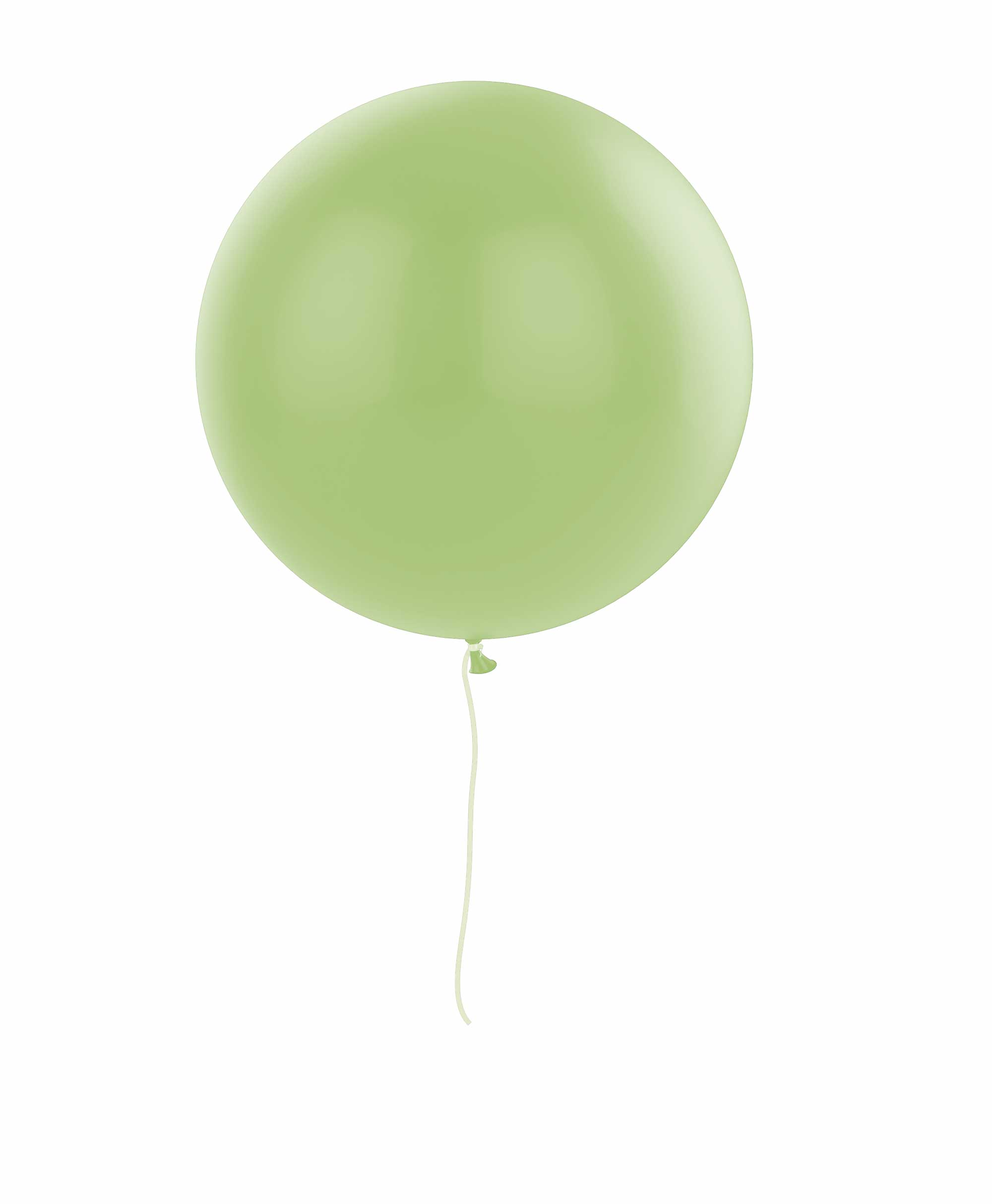 "Lime balloon 36"" - Spring theme"