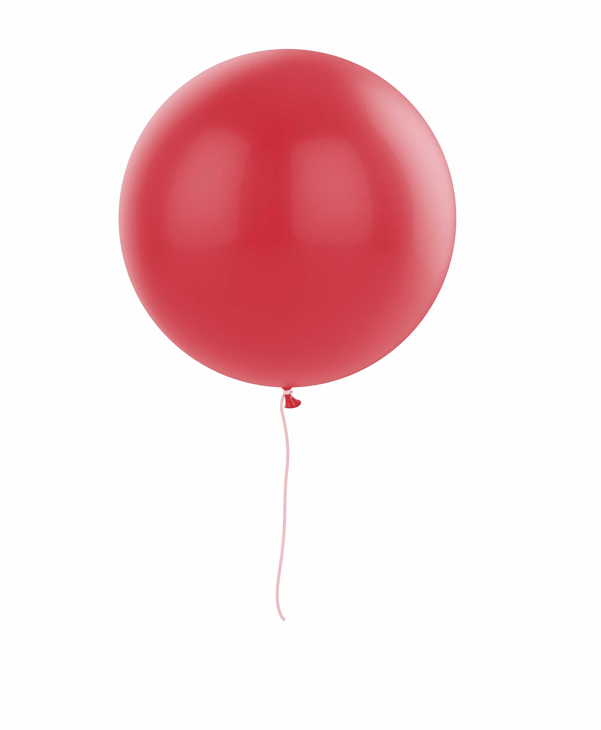"Red balloon 36"" - Raspberry theme"