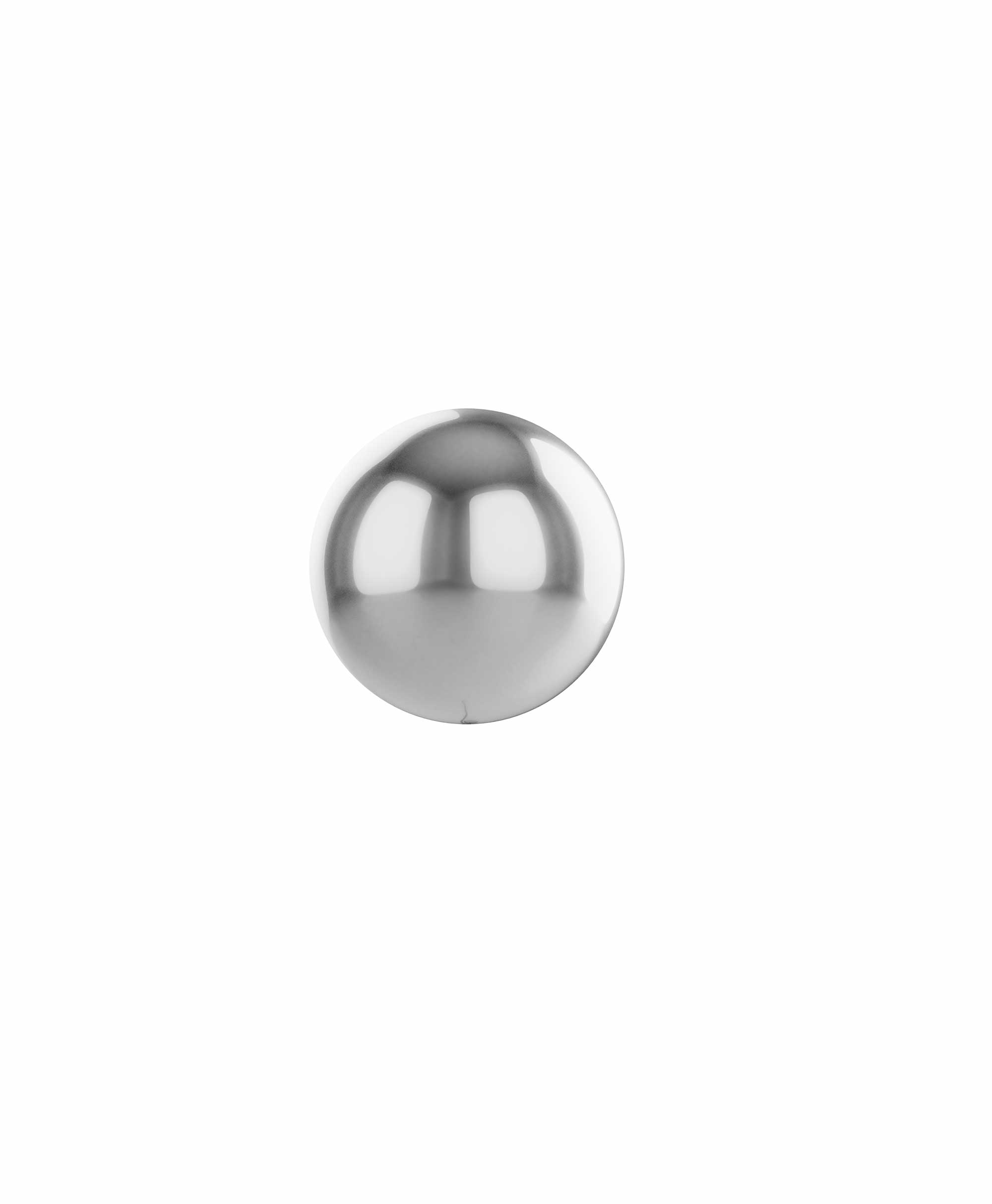"Silver balloon ball 10"" - Spring theme"