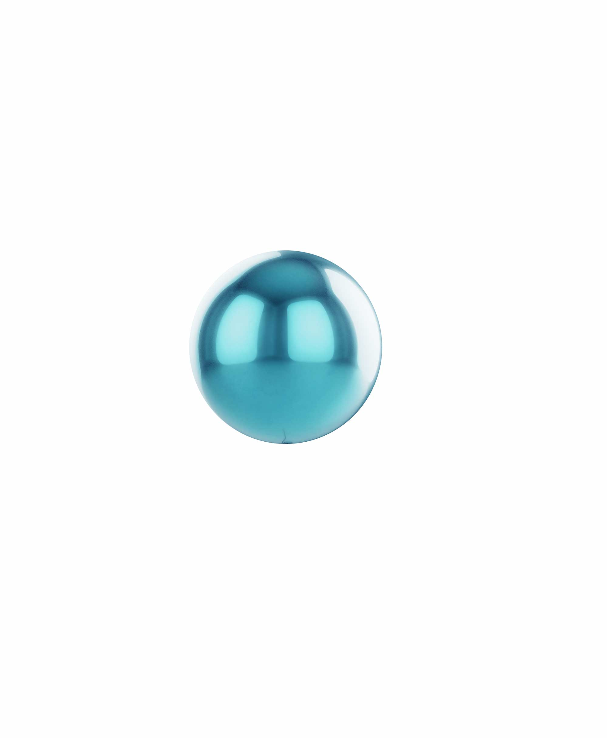 "Light blue balloon ball 10"" - Elephant theme"
