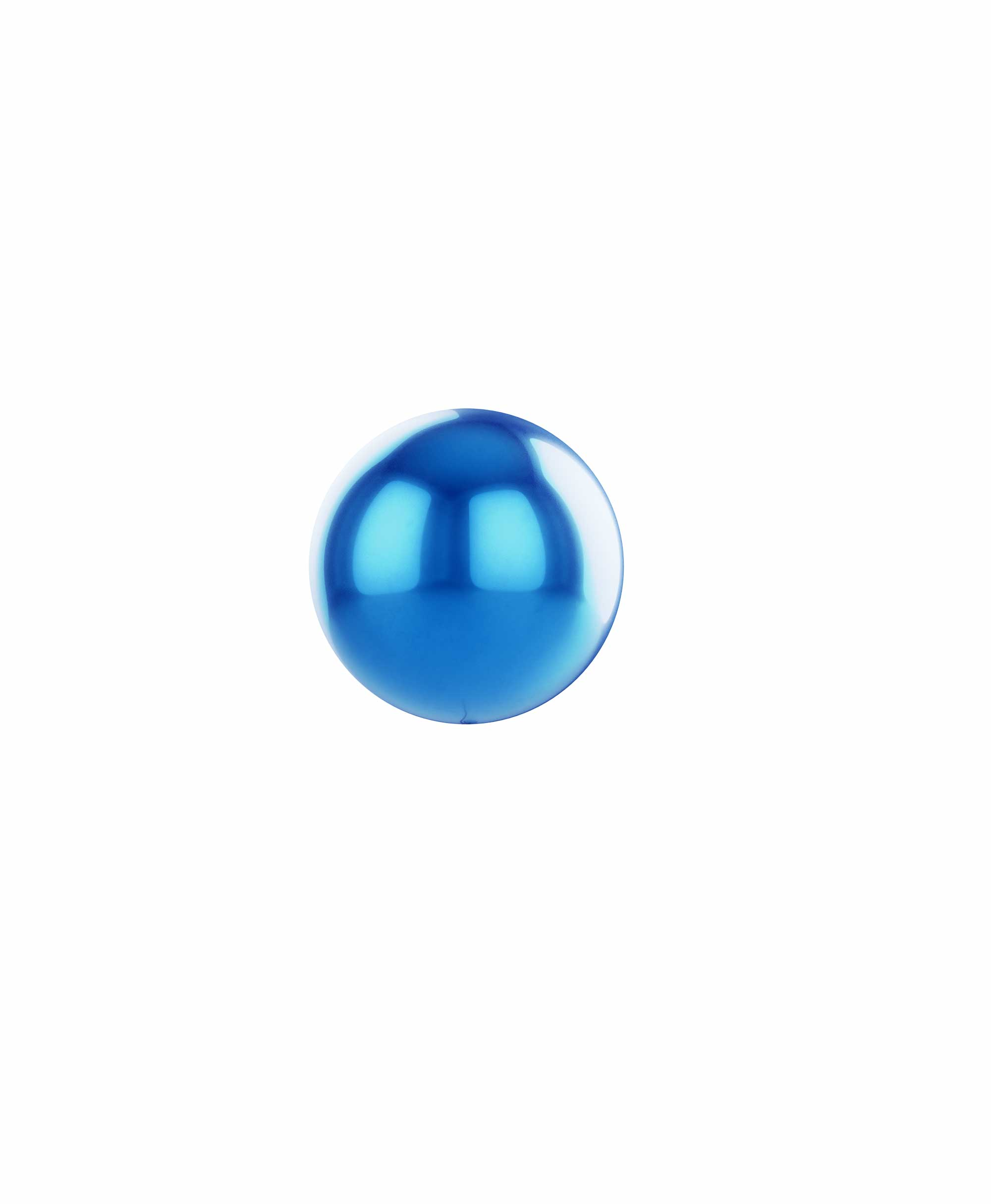 "Royal blue balloon ball 10"" - Sky Theme"
