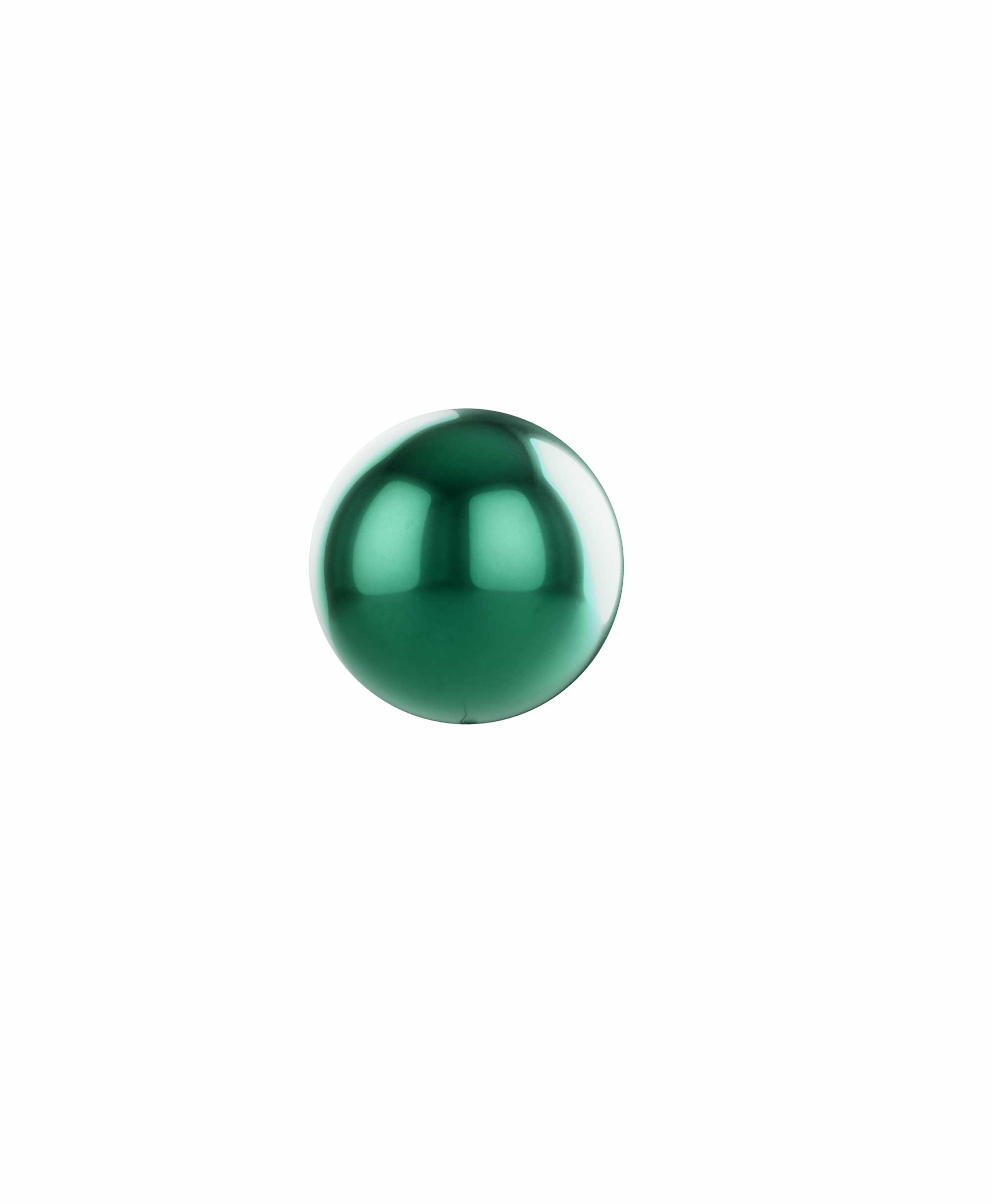 "Dark green balloon ball 10"" - Gum nut Theme"
