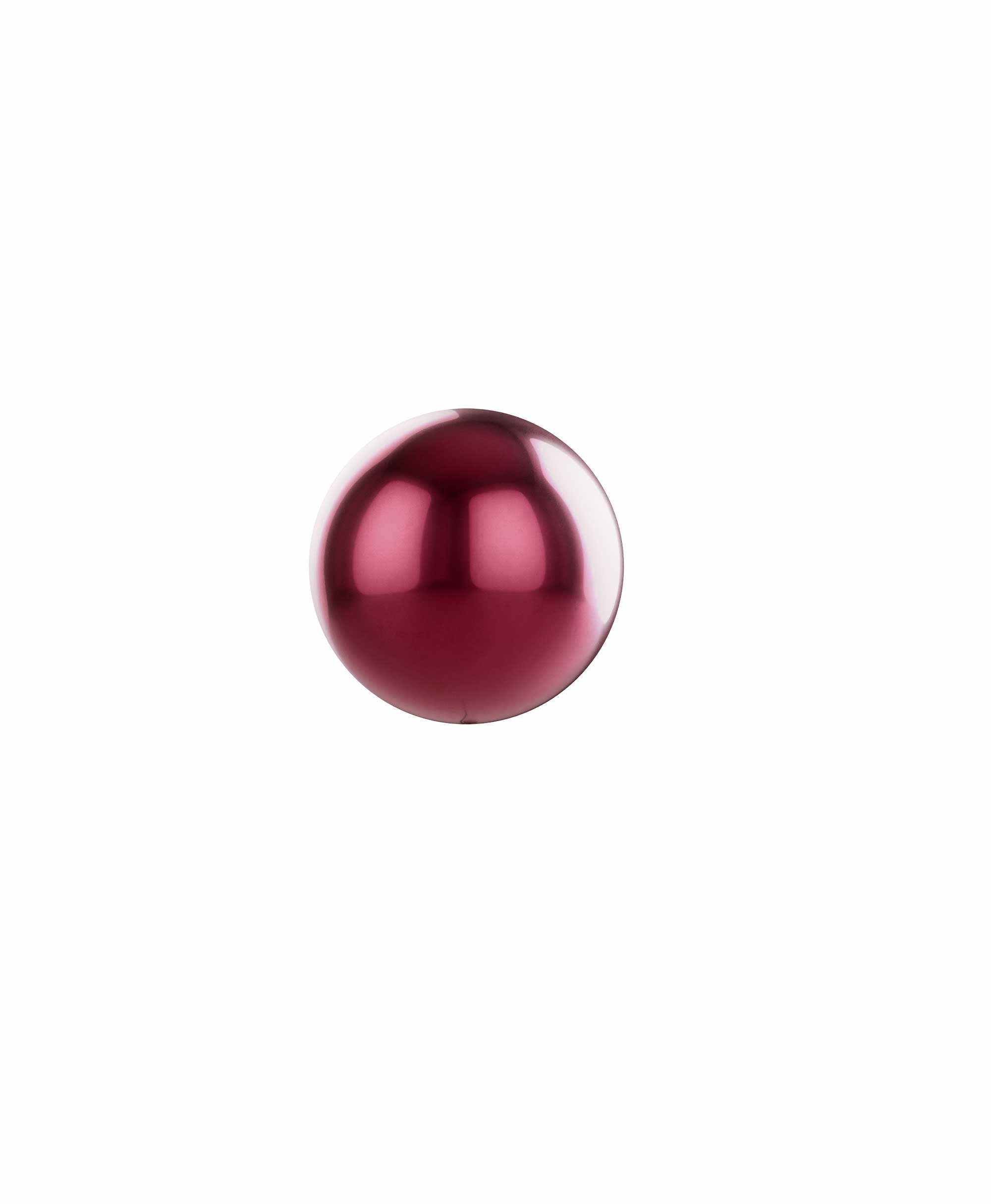 "Burgundy balloon ball 10"" - Swan Theme"